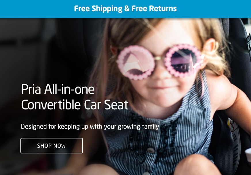 Pria All-in-one Convertible Car Seat