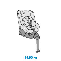 Beryl Car Seat Weight: 14.9kg