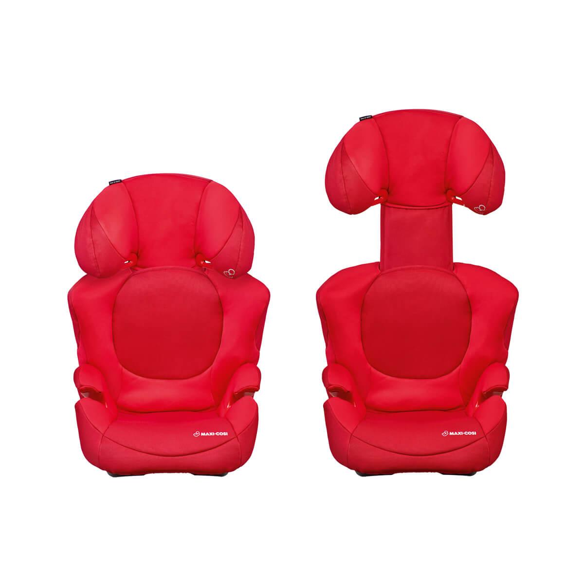 Easy headrest adjustment