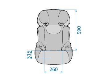 Rodi XP front dimensions