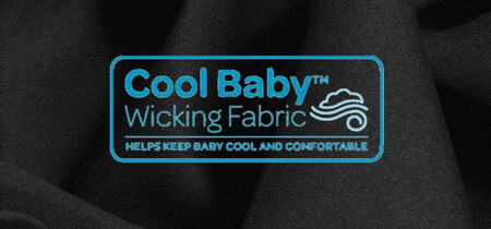 Cool baby wicking fabric for Maxi-Cosi Strollers/Car Seats